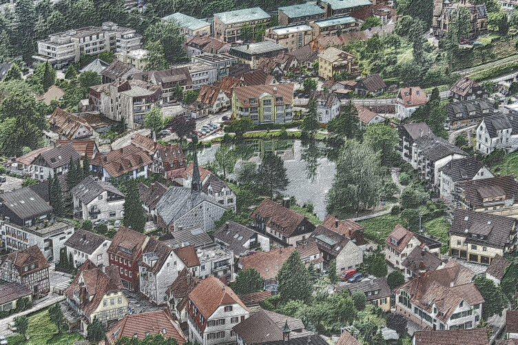 Bad Liebenzell im Schwarzwald (2)