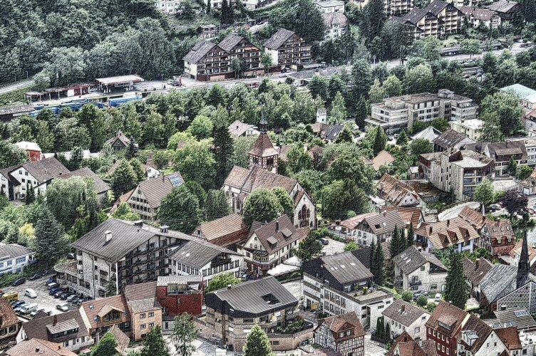 Bad Liebenzell im Schwarzwald