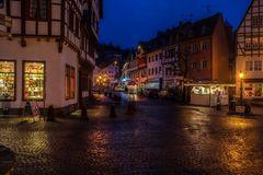 Bad Münstereifel bei Nacht