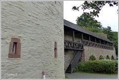 Bad Münstereifel - Wehrgang an der Stadtmauer