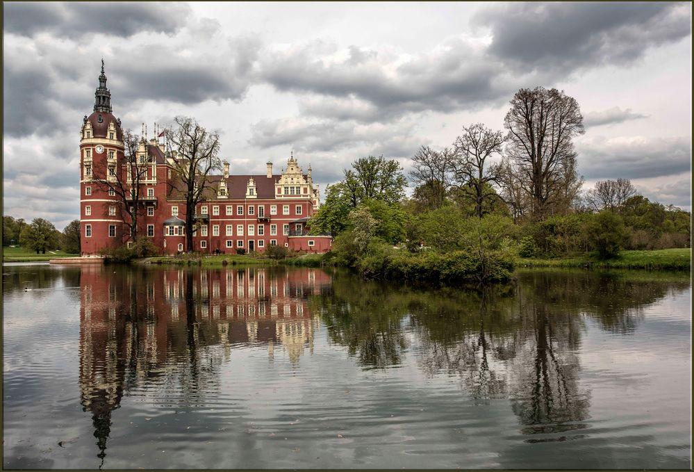 Bad Muskau -  Schloss im Fürst Pückler Park
