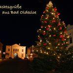 Bad Oldesloe, Marktplatz im Weihnachtsglanz