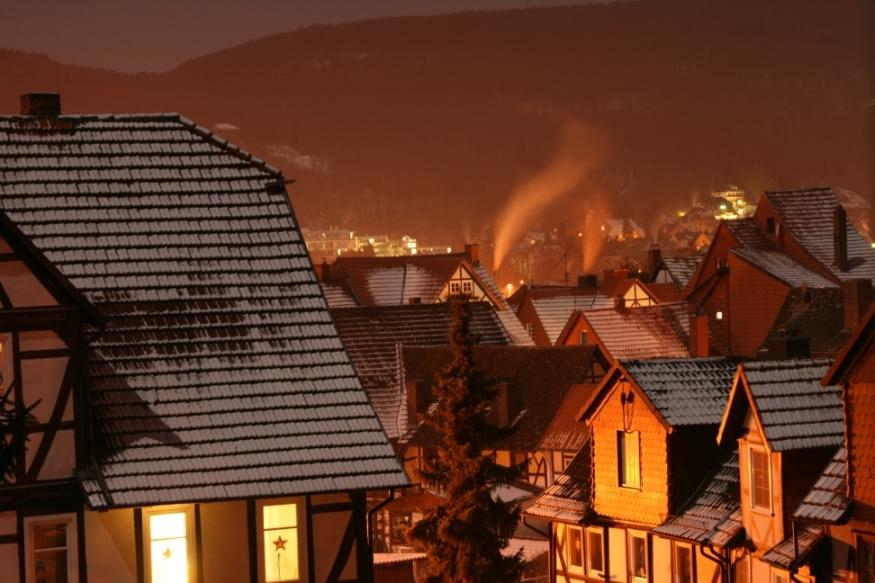 Bad Sooden-Allendorf bei Nacht