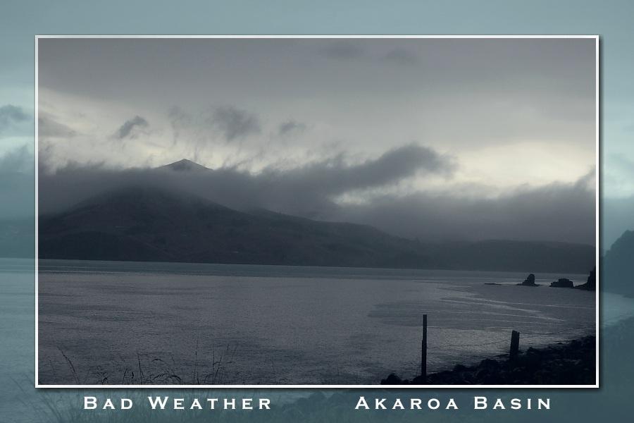 Bad Weather at Akaroa Basin