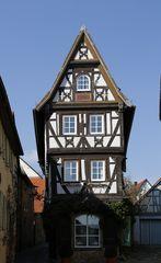 Bad Wimpfen - Fachwerkhaus in der Badgasse