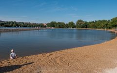 Badebucht am Wöhrder See