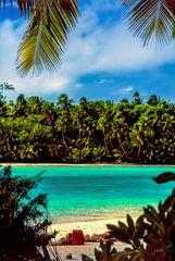 Baden auf der One Foot Island
