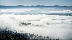 Baden-Baden versinkt im Nebel...