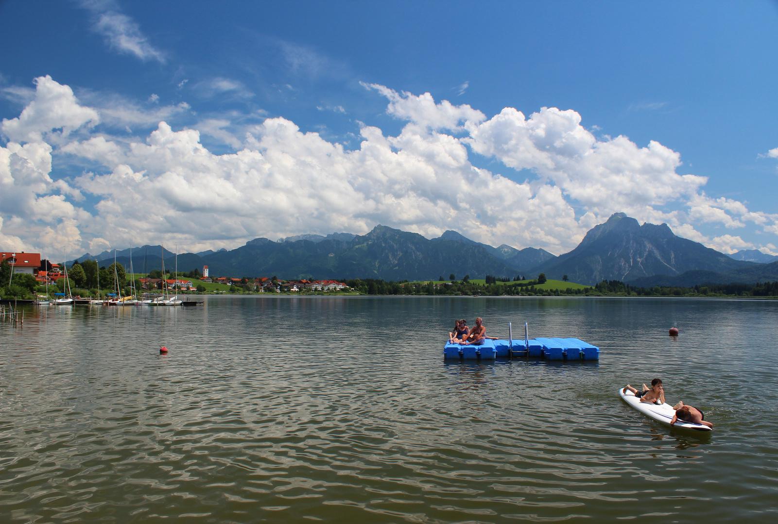 Badespaß Bayern