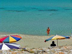 Badespass auf Formentera
