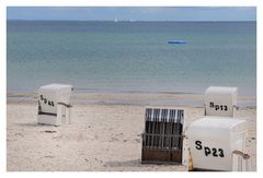 Badestrand an der Ostsee.