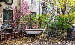Badetag im Gängeviertel Hamburg