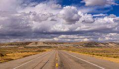 Badland Hills, Wyoming, USA