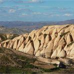 Badlands in Kappadokien/Türkei