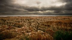 Badlands surreal