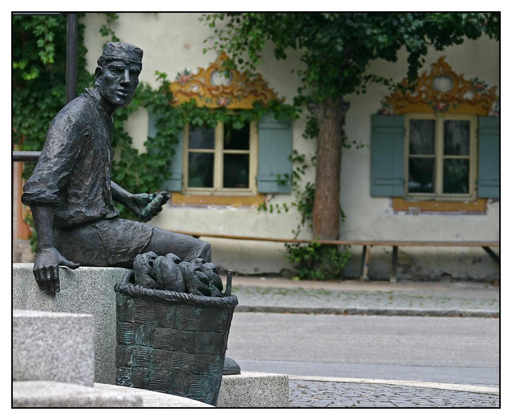 Bäckerbrunnen Oberaudorf