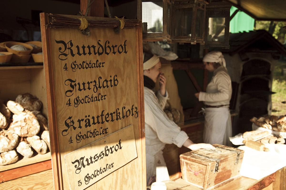 Bäckerei Mittelalter