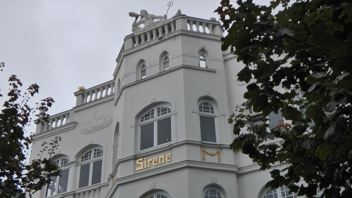 Bäderarchitektur in Binz auf Rügen