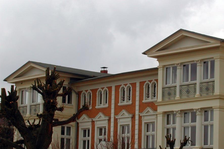 Bäderarchitektur in Zinnowitz