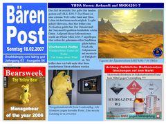 Bärenpost Ausgabe 06/2007