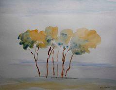 Bäume Quartett