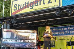 Bäume statt Kohle Hambach in Stgt K21 Aug18