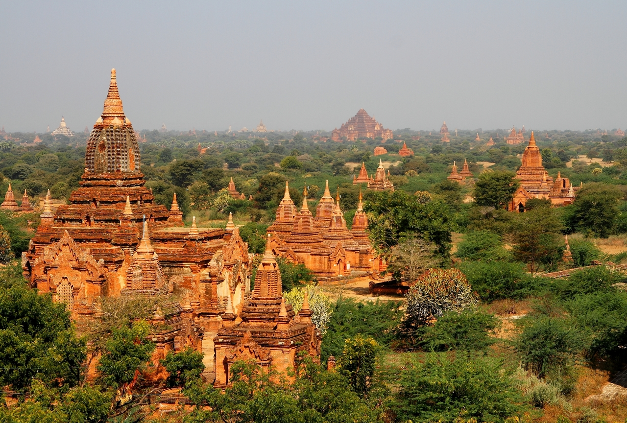 Bagan im Sonnenlicht...