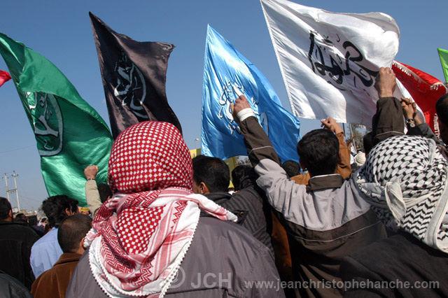 Bagdad, Irak, manifestation chiite
