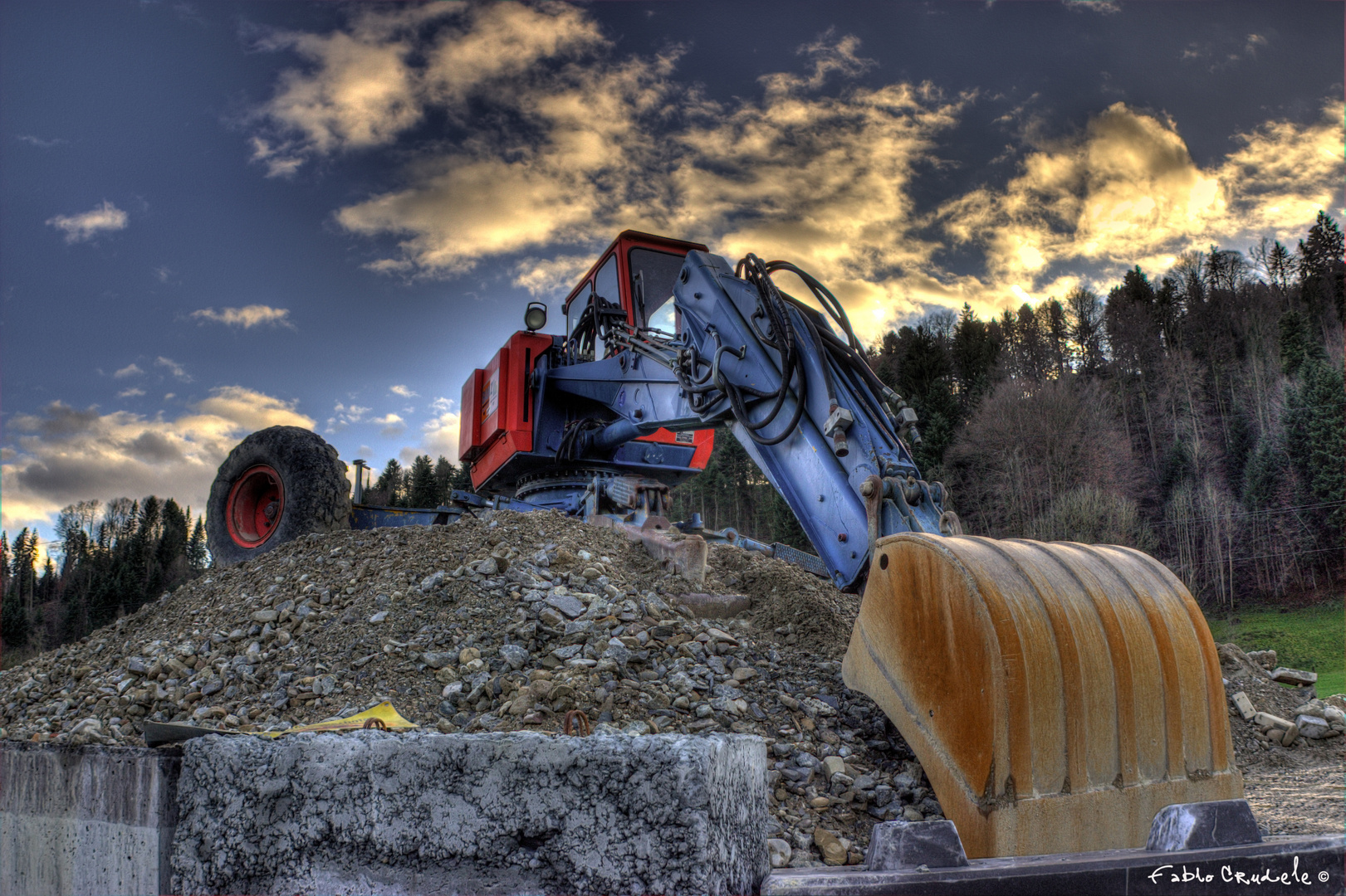 Bagger HDR