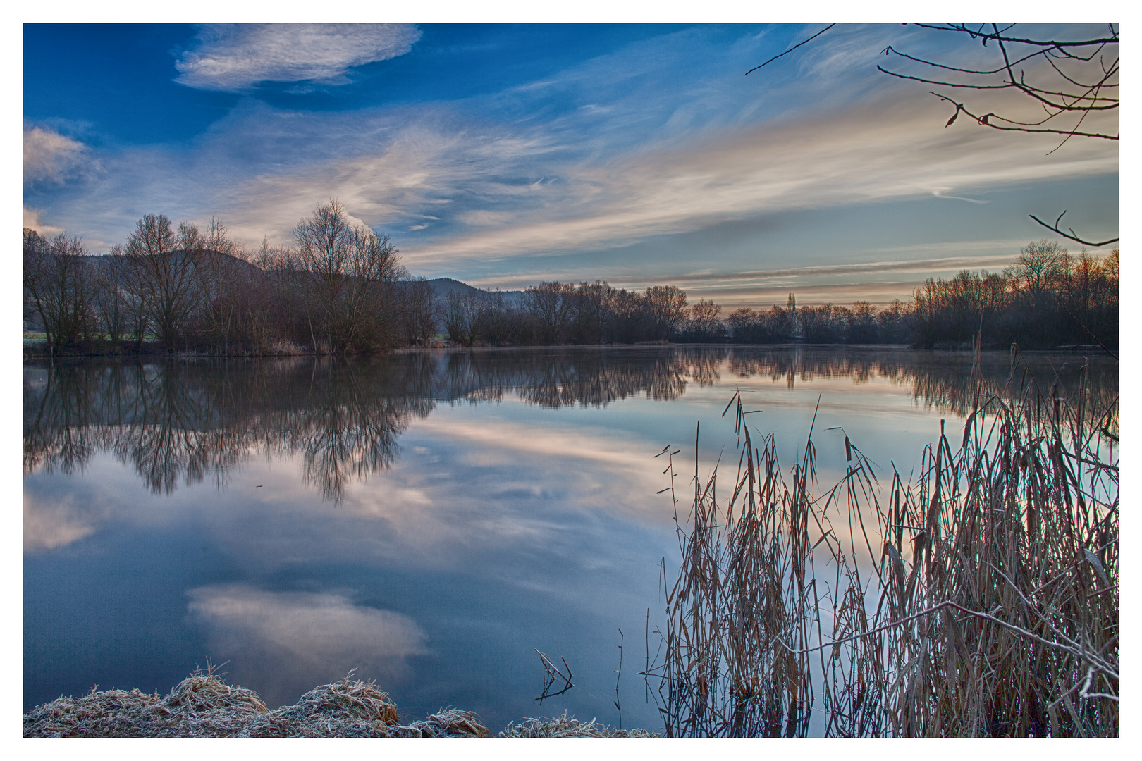 Baggersee Hirschau Foto & Bild | landschaft, bach, fluss