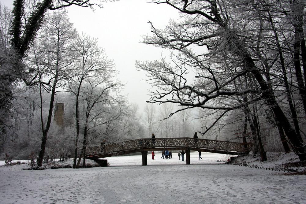 Bagno See im Winter