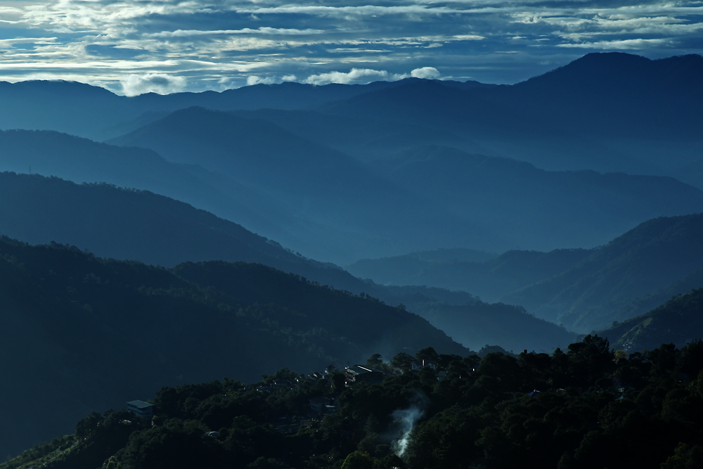 Baguio - Mile High viepoint - or at the right time at the wrong place