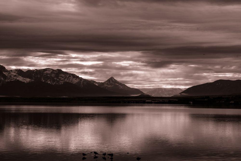 Bahia de Puerto Natales