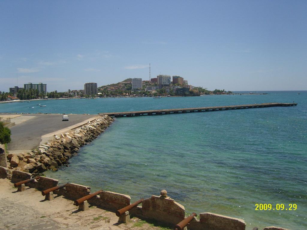 Bahia Pampatar desde el Castillo