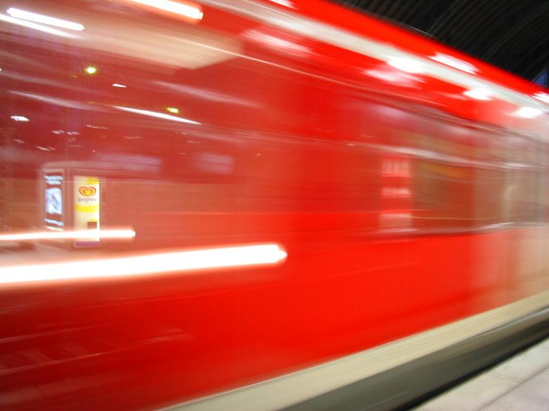 Bahn, Dammtor, Hamburg