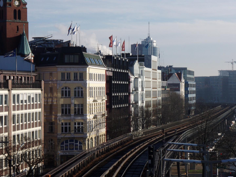 Bahn Landungsbrücken