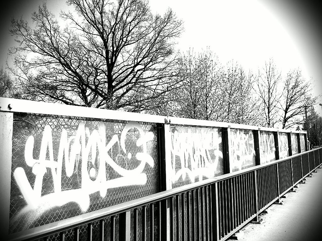 Bahnbrücke in Machern