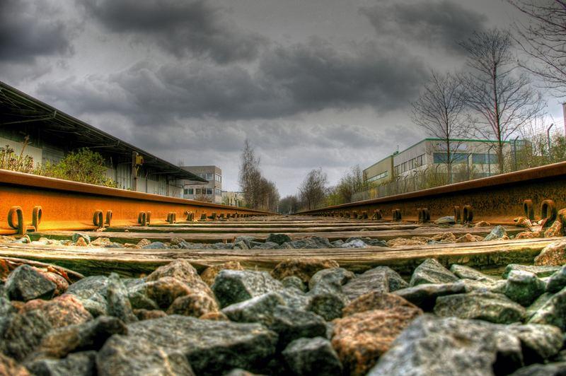 Bahngleis ohne Ende als HDR Versuch