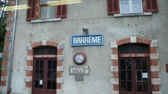 Bahnhof Barreme
