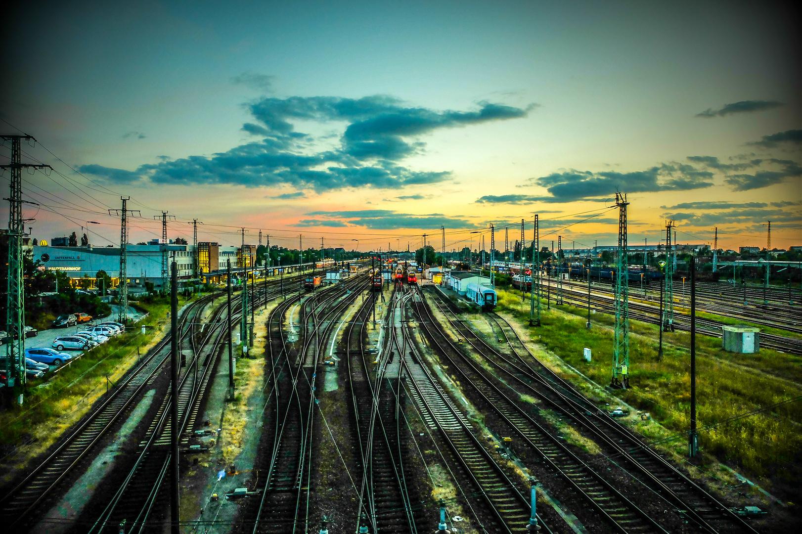 Bahnhof Cottbus