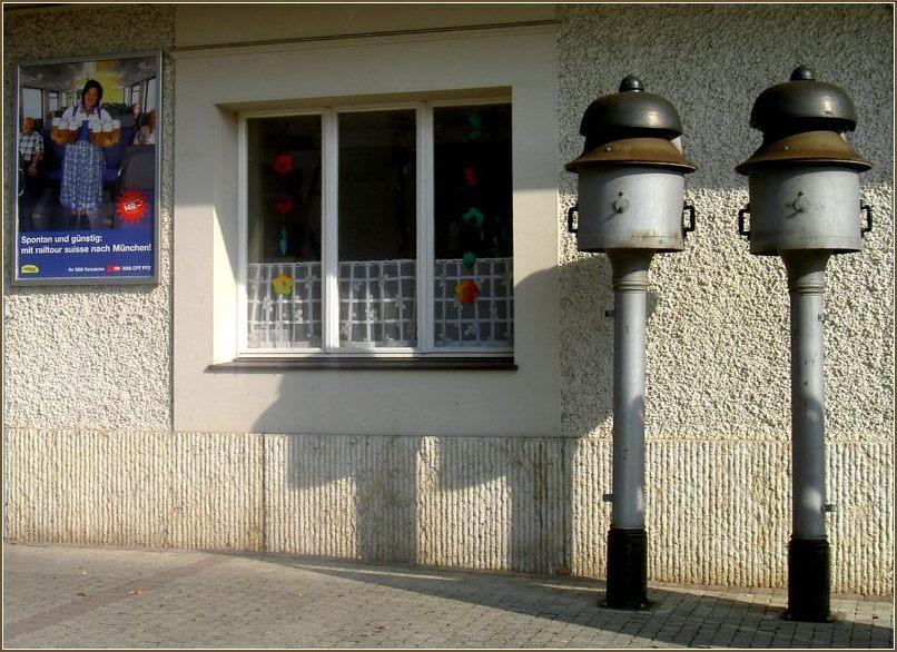 Bahnhof Dachsen, Bahnhofsglocken