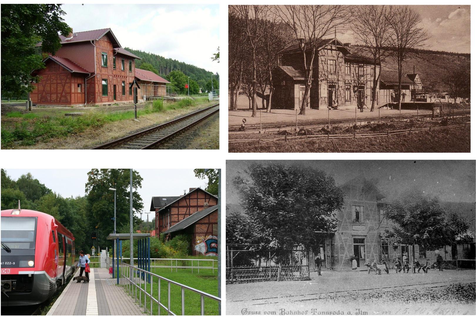 """Bahnhof des """"Ilmtalexpress"""""""
