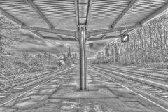 Bahnhof Dudweiler HDR