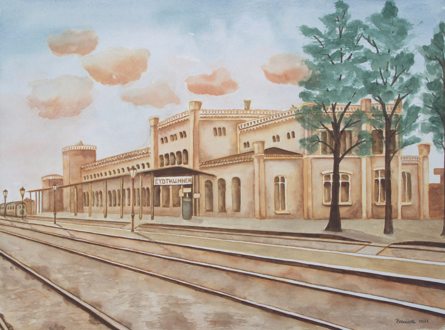 Bahnhof Eydtkuhnen
