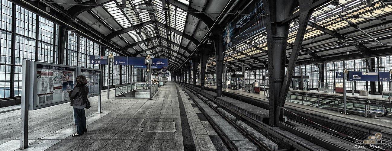 Bahnhof Friedrichstraße - Streik