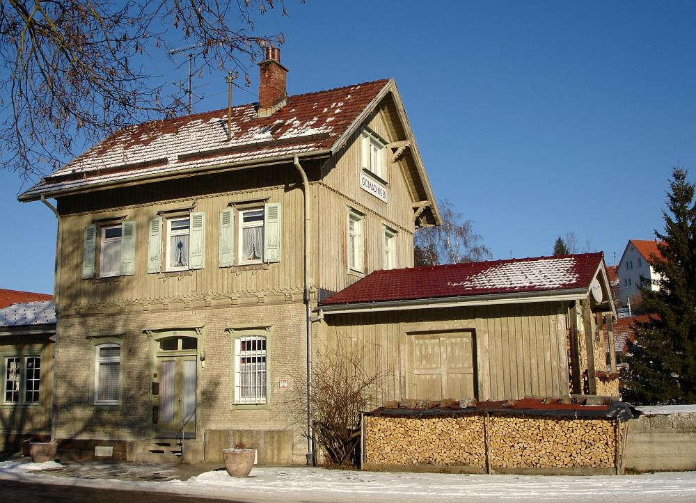 Bahnhof im Schnee II