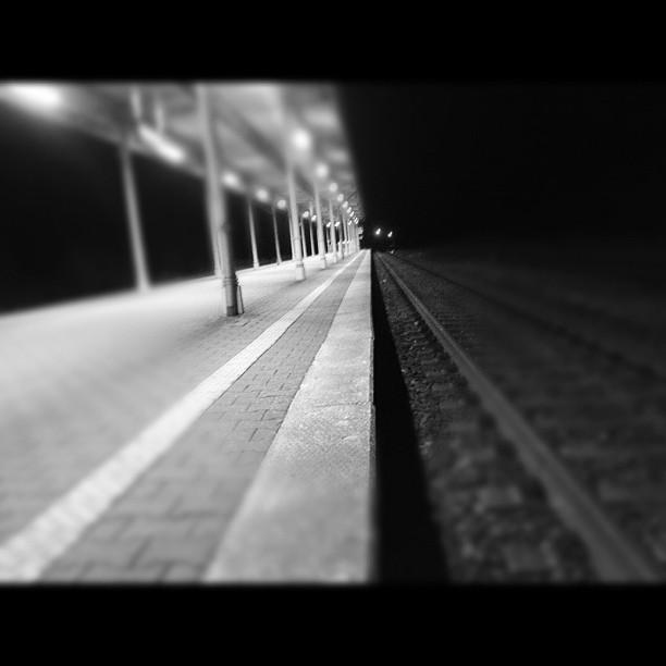 Bahnhof im Tiefen Sachsen