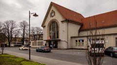 Bahnhof Köthen - Außenansicht
