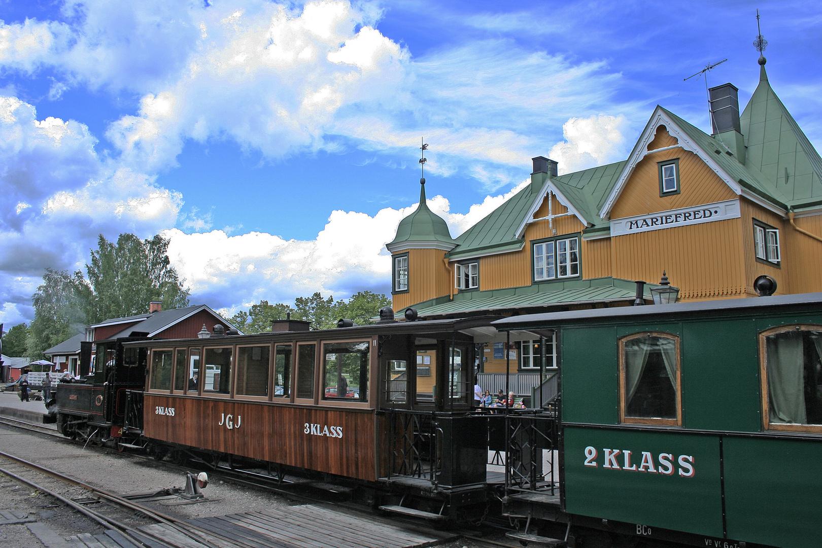 Bahnhof Mariefred