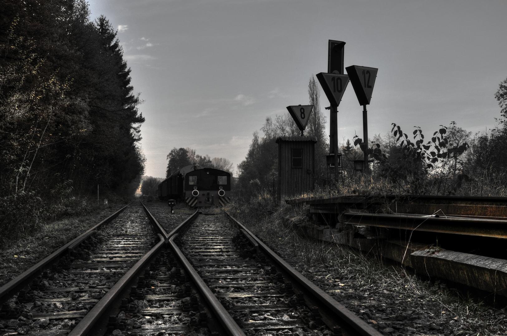 Bahnhof Pfettrach